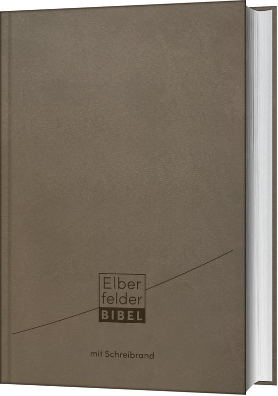 Elberfelder Bibel - mit Schreibrand, Kunstleder