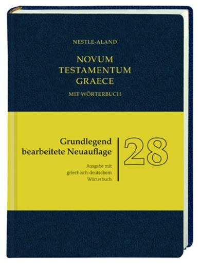 Novum Testamentum Graece mit Wörterbuch
