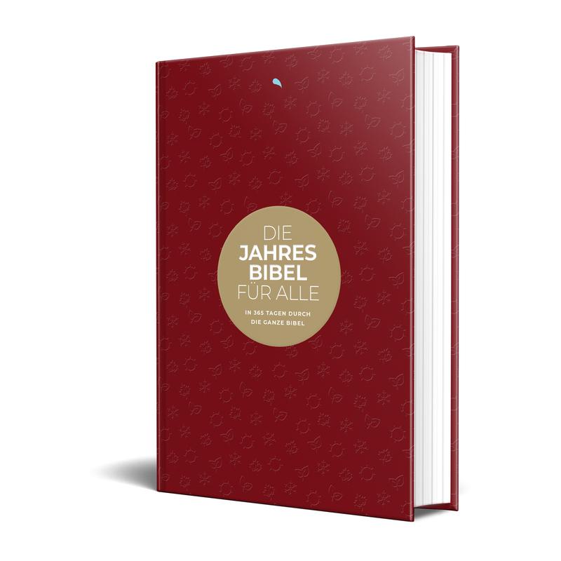 Hoffnung für alle. Die Jahresbibel: Four Seasons / Red Edition