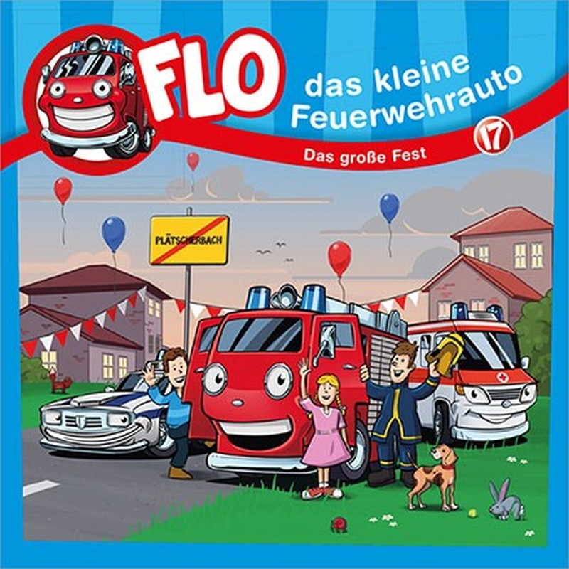 Flo - das kleine Feuerwehrauto: Das große Fest (17)