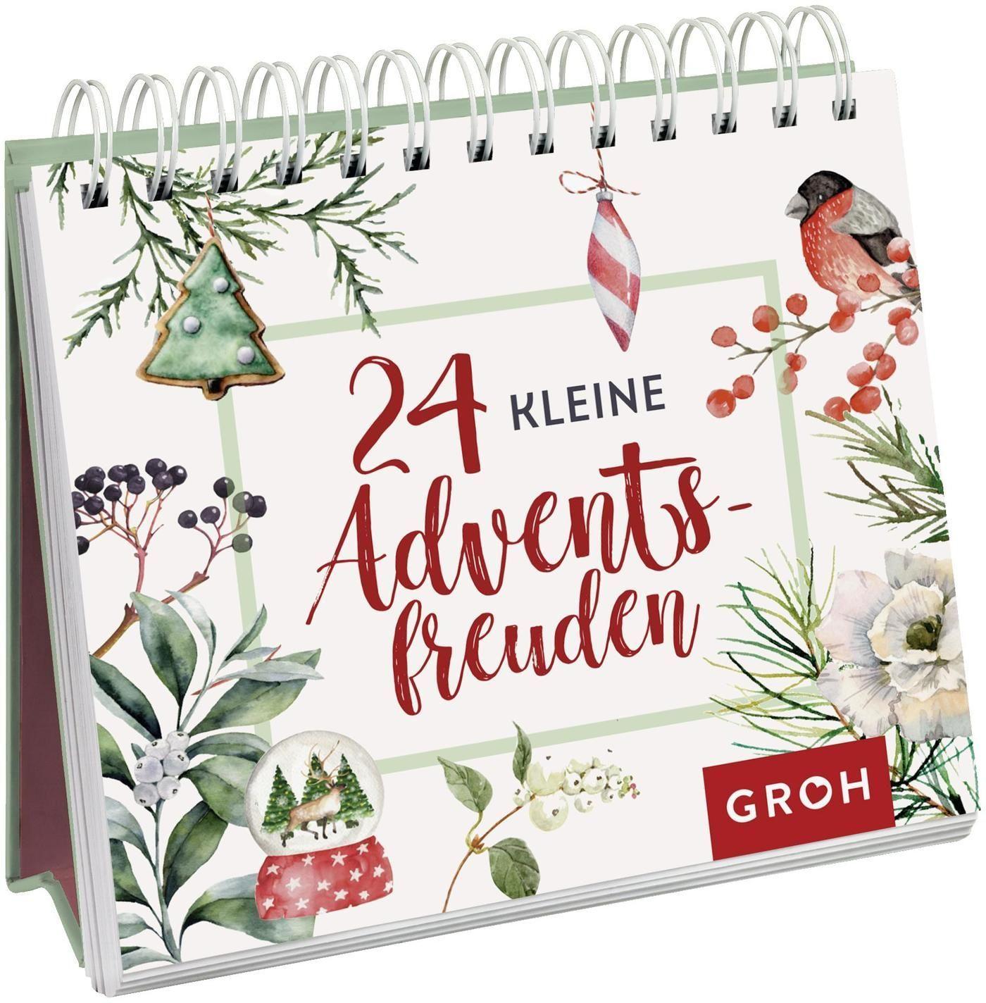 24 kleine Adventsfreuden - Aufstellbuch