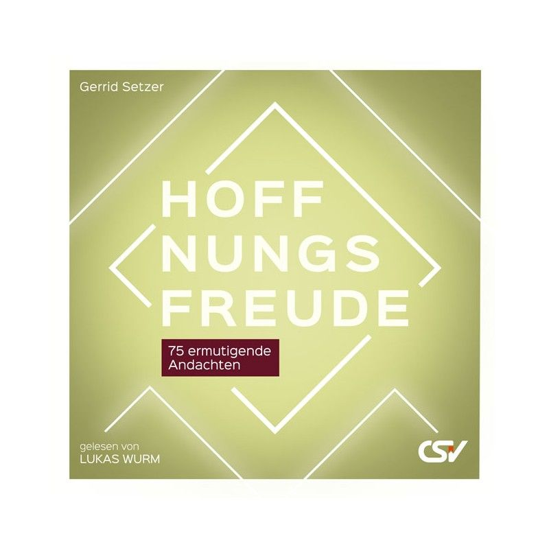 Hoffnungsfreude - Hörbuch