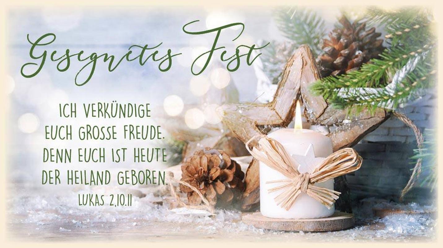 "Schokoladengrüße ""Gesegnetes Fest"" (40g)"