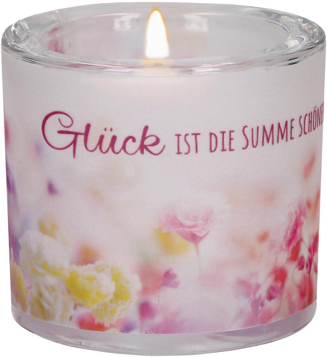 """Windlicht LichtMomente """"Glück"""""""