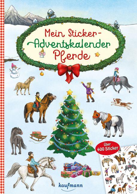 Mein Sticker-Adventskalender Pferde