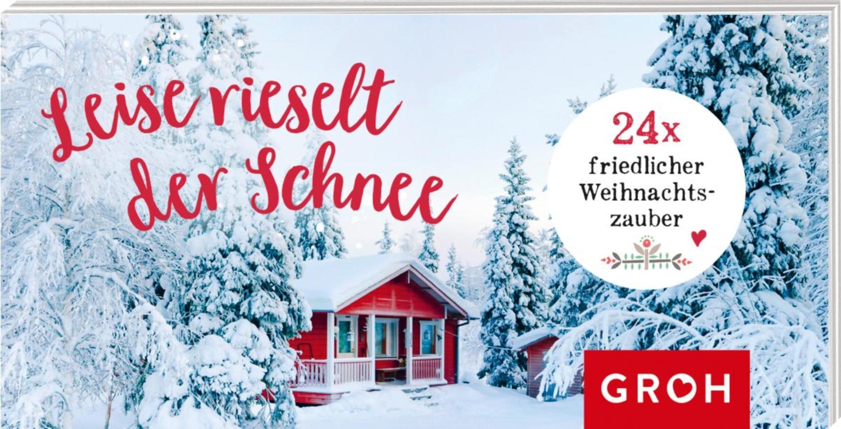 Leise rieselt der Schnee - Mini-Adventskalender