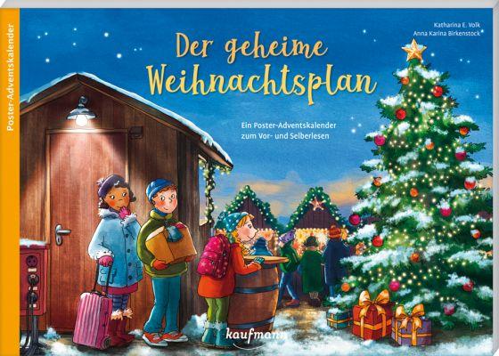 Der geheime Weihnachtsplan - Adventskalender