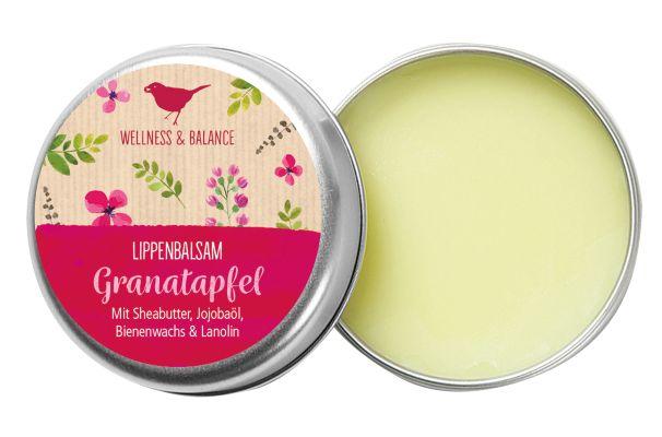 Lippenbalsam - Granatapfel