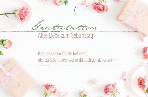 """Faltkarte """"Gratulation"""" Alles Liebe zum Geburtstag"""