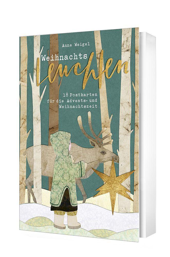 Weihnachtsleuchten - Postkartenset