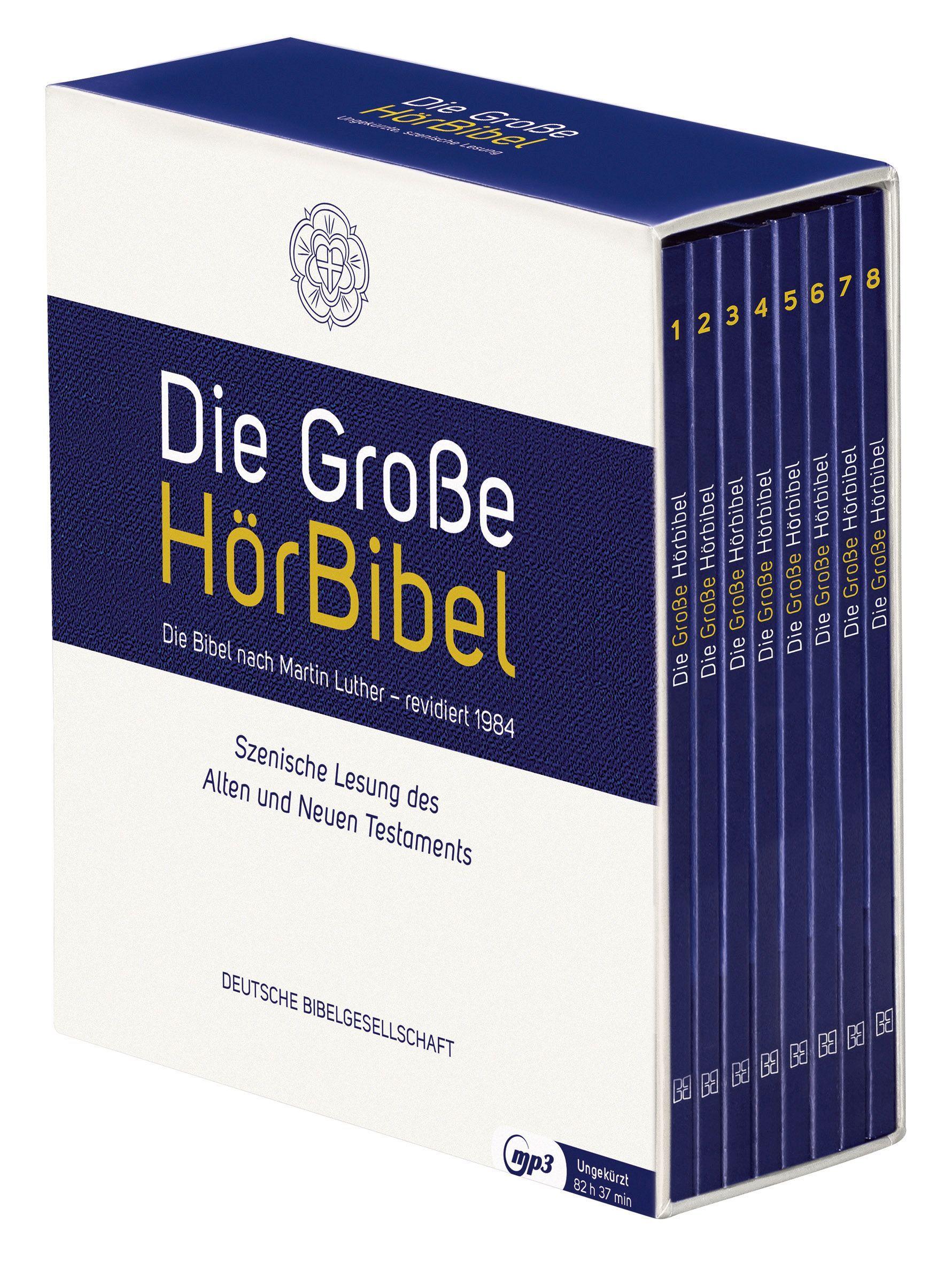Die große Hörbibel - die Lutherbibel - MP3