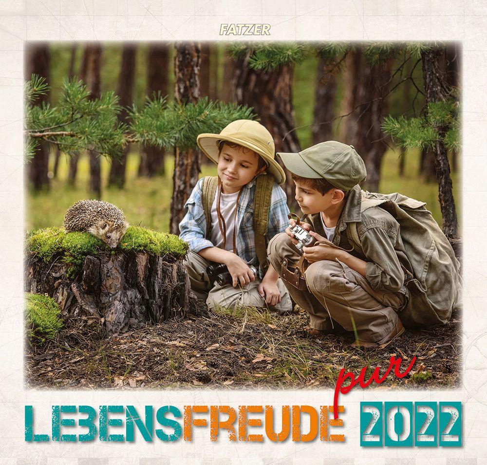 Lebensfreude pur 2022 - Wandkalender