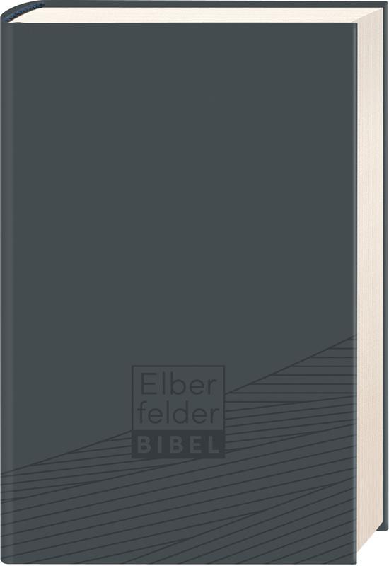 Elberfelder Bibel - Taschenausgabe, ital. Kunstleder grau