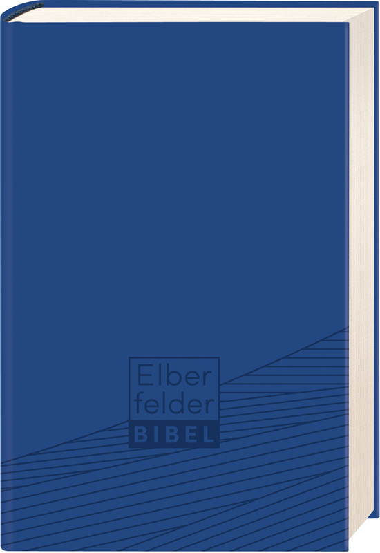 Elberfelder Bibel - Taschenausgabe, ital. Kunstleder blau