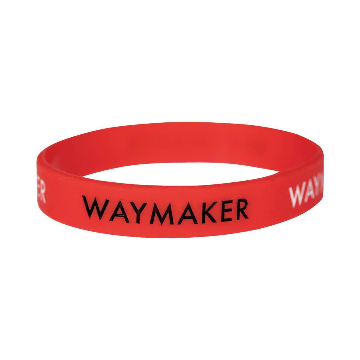 "Armband ""Waymaker"" - rot"