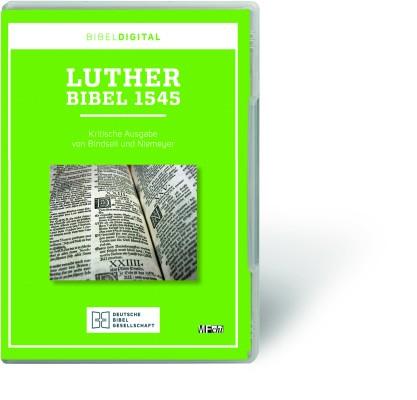 Lutherbibel 1545 - CD-ROM