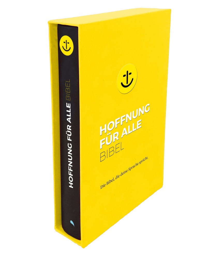 "Hoffnung für alle ""Black Hope Geschenkbibel"" - Großformat"