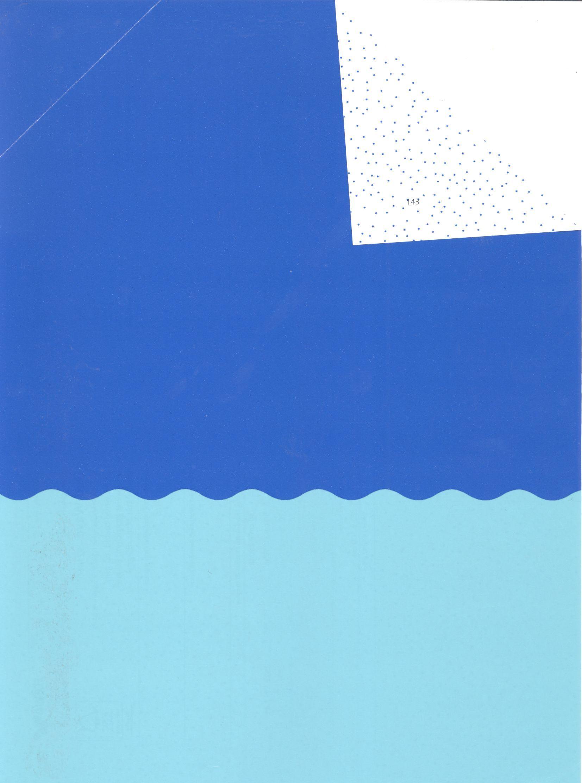 Secare Duo Wave Hellblau/Blau 921050 250m/50cm