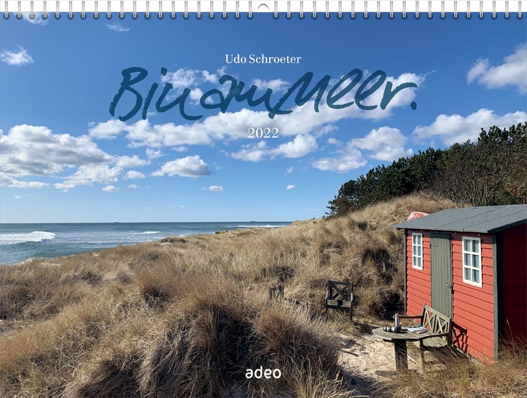 Bin am Meer 2022 - Wandkalender