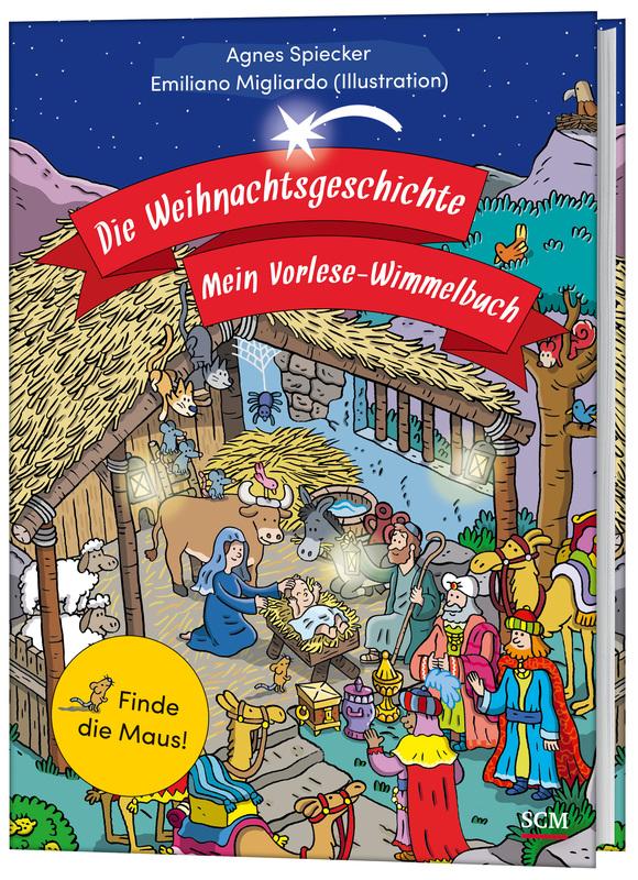 Die Weihnachtsgeschichte - Mein Vorlese-Wimmelbuch