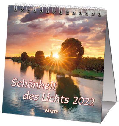 Schönheit des Lichts 2022 - Tischkalender