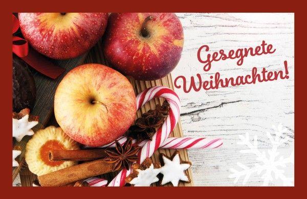 Glühweinkarte - Gesegnete Weihnachten!