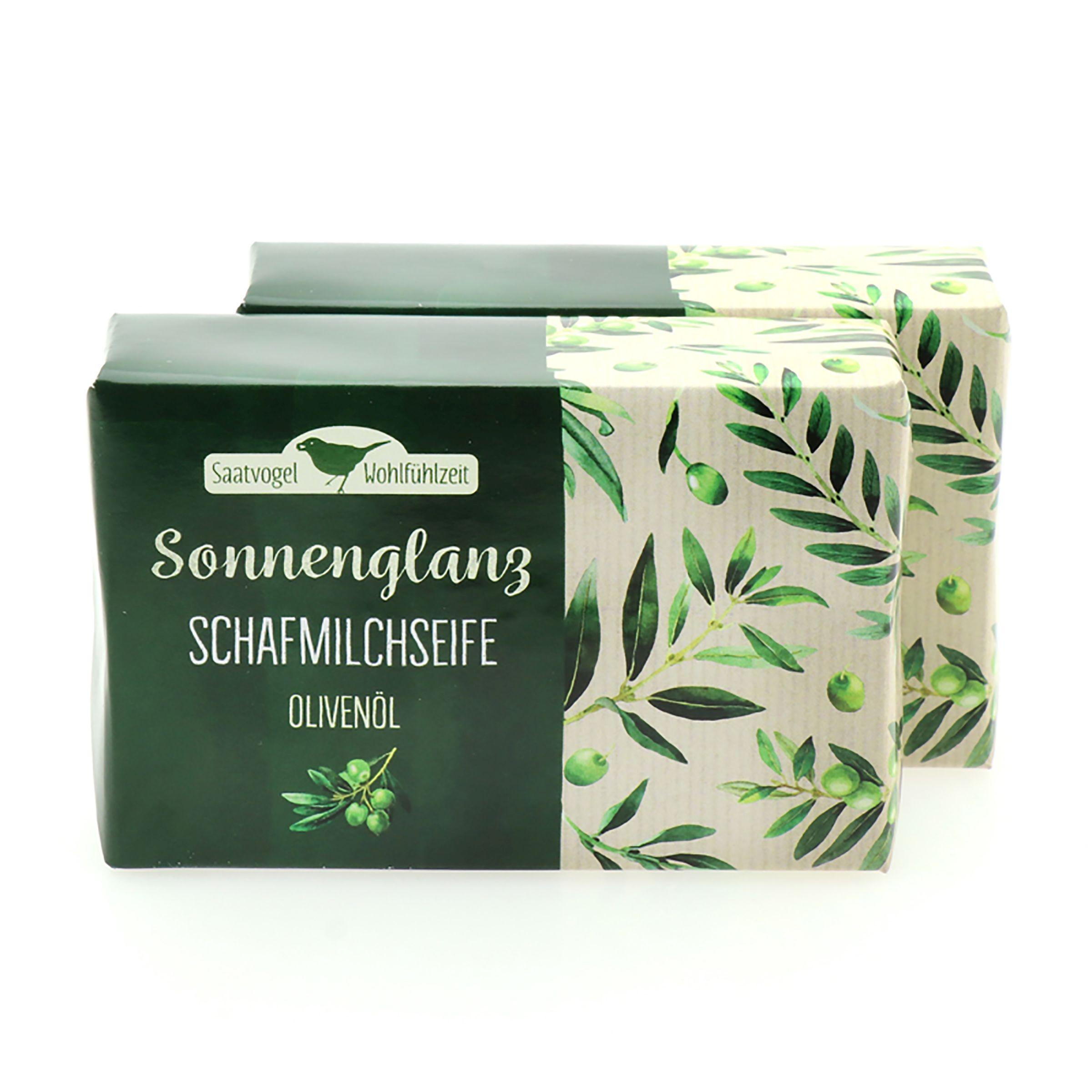 Schafmilchseife Sonnenglanz - Olivenöl