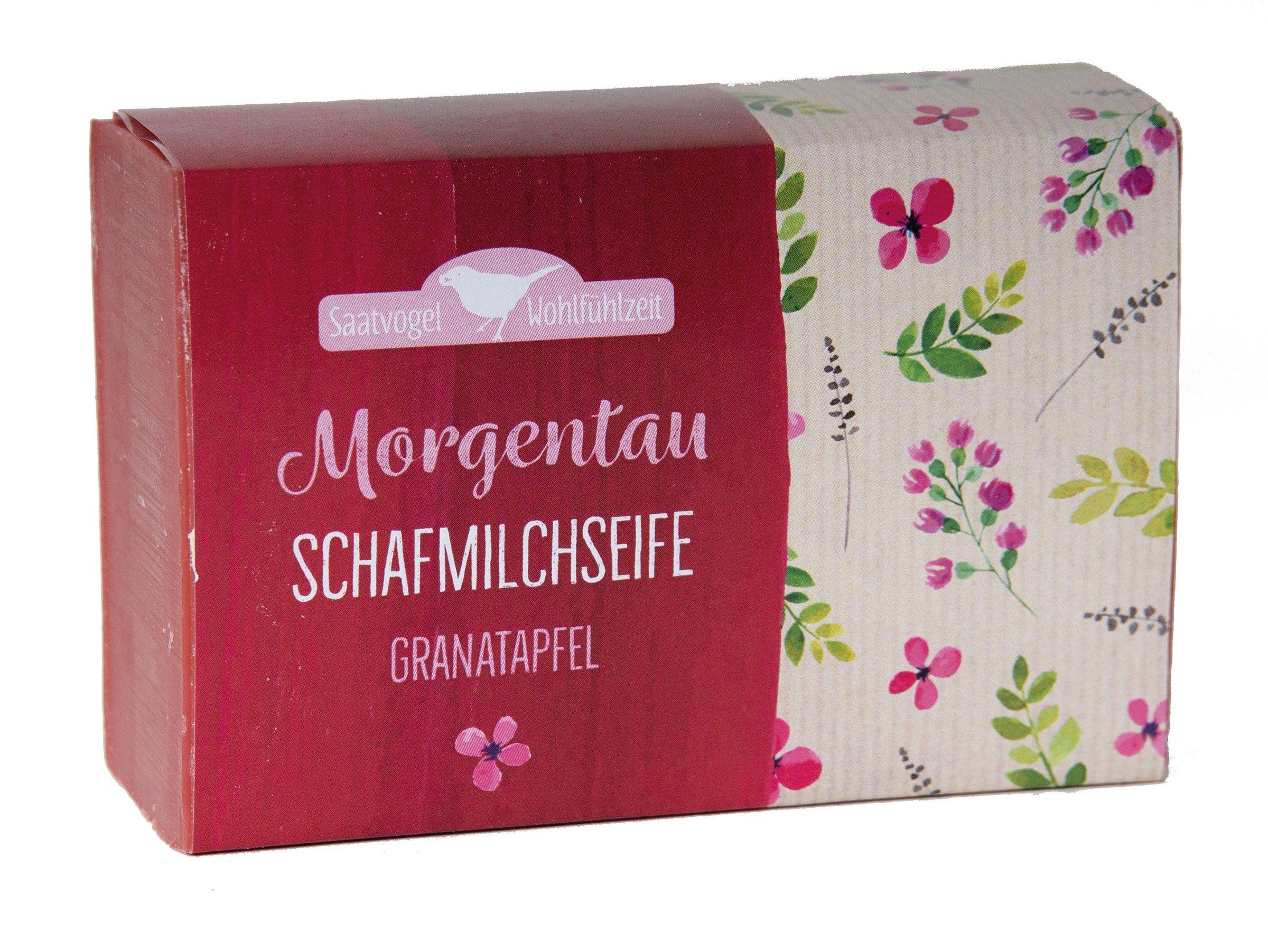 Schafmilchseife Morgentau - Granatapfel